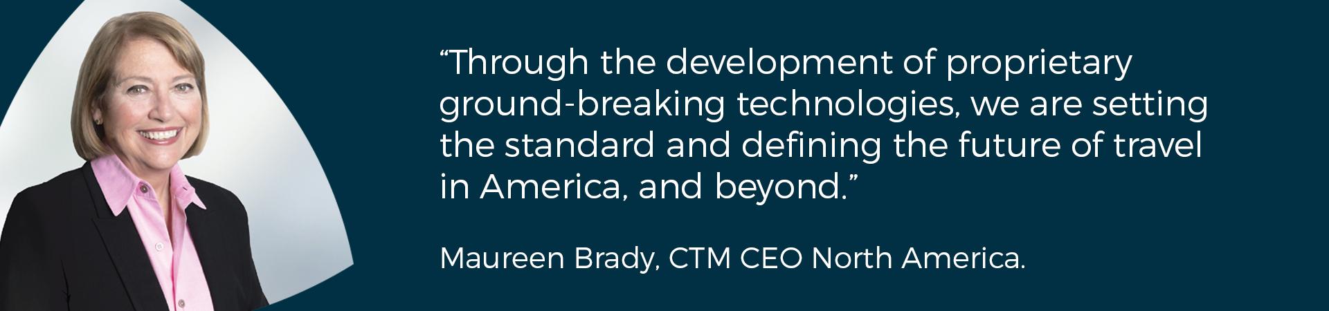 Maureen Brady CEO North America